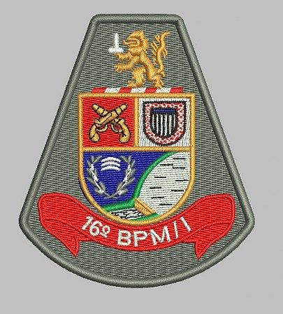 BRASÃO 16 BPM/I (POLICIA MILITAR)