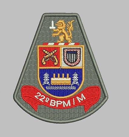 BRASÃO 22 BPM/M POLÍCIA MILITAR