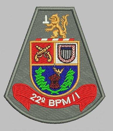 BRASÃO 22 BPM/I POLÍCIA MILITAR