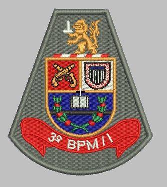 BRASÃO 3 BPM/I POLÍCIA MILITAR