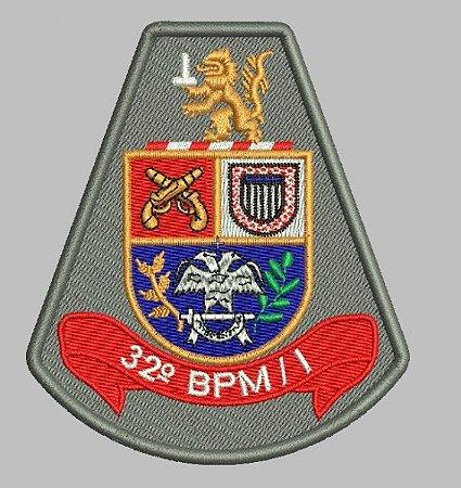 BRASÃO 32 BPM/I (POLICIA MILITAR)