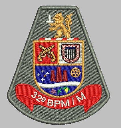 BRASÃO 32 BPM/M (POLICIA MILITAR)