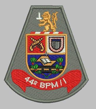 BRASÃO 44 BPM/I POLÍCIA MILITAR