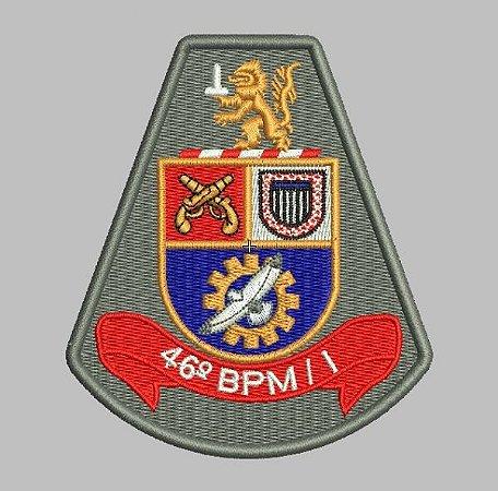 BRASÃO 46 BPM/I (POLICIA MILITAR)