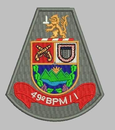 BRASÃO 49 BPM/I POLÍCIA MILITAR
