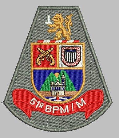 BRASÃO 51 BPM/M POLÍCIA MILITAR