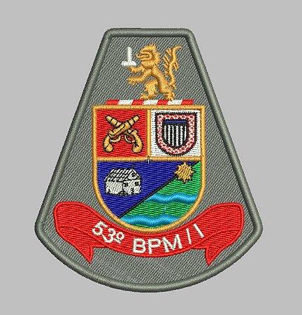 BRASÃO 53 BPM/I POLICIA MILITAR