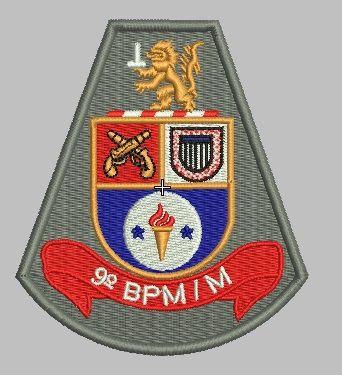 BRASÃO 9 BPM/M POLÍCIA MILITAR