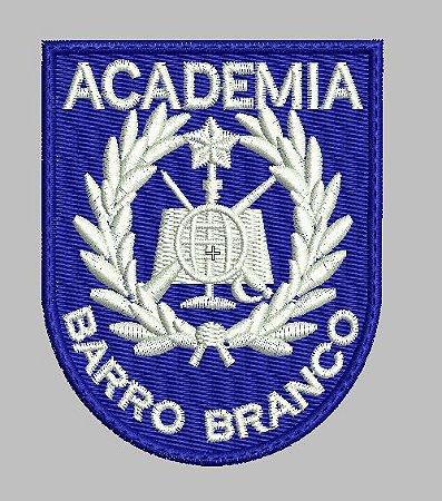 BRASÃO ACADEMIA BARRO BRANCO / OFICIAIS (BORDADO MILITAR)