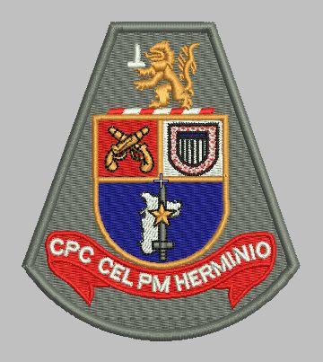BRASÃO COMANDO DE POLICIAMENTO DA CAPITAL (CPC CEL PM HERMINIO) POLÍCIA MILITAR