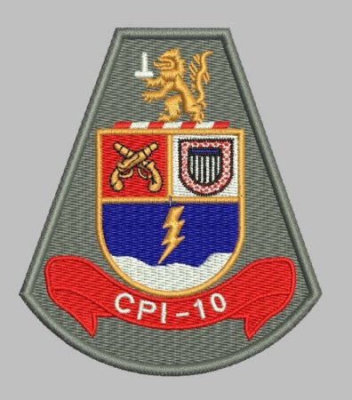 BRASÃO CPI-10 (POLÍCIA MILITAR)