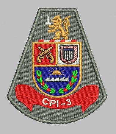BRASÃO CPI-3 (POLÍCIA MILITAR)