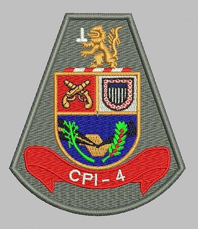 BRASÃO CPI-4 (POLÍCIA MILITAR)