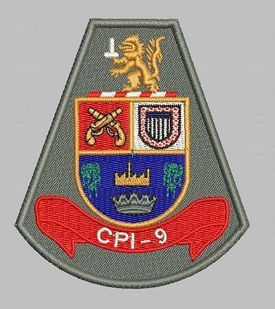 BRASÃO CPI-9 POLÍCIA MILITAR