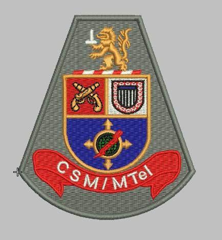BRASÃO CSM/MTel