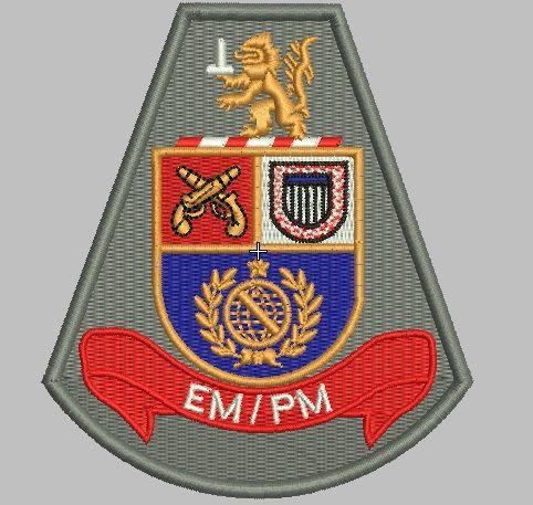 BRASÃO EM/PM (POLÍCIA MILITAR)