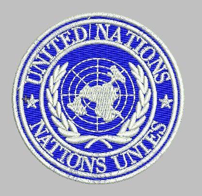 BRASÃO ONU (BORDADO MILITAR)