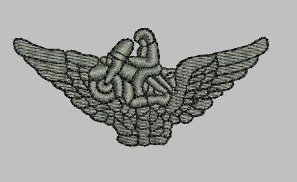 BREVE MOTO (BORDADO MILITAR)