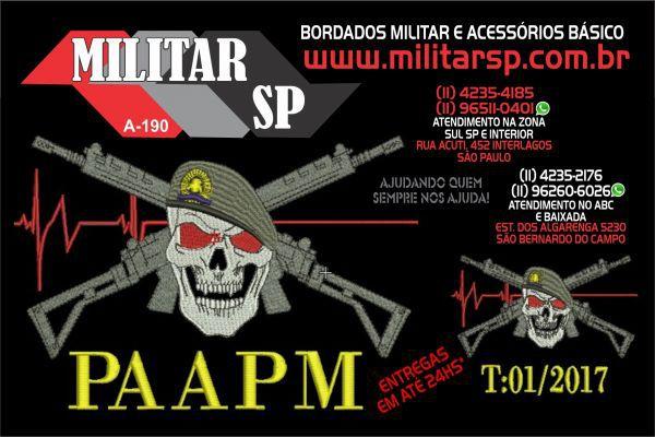 CAMISETA PAAPM (ANTIGO PROAR) MILITAR SP