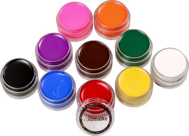 Blush Cremoso 10 cores - Color Make