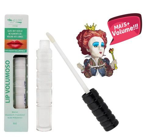 Gloss lip volumoso menthol - Max Love