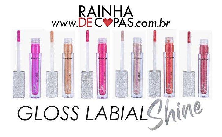 Gloss Labial Shine - Ruby Rose