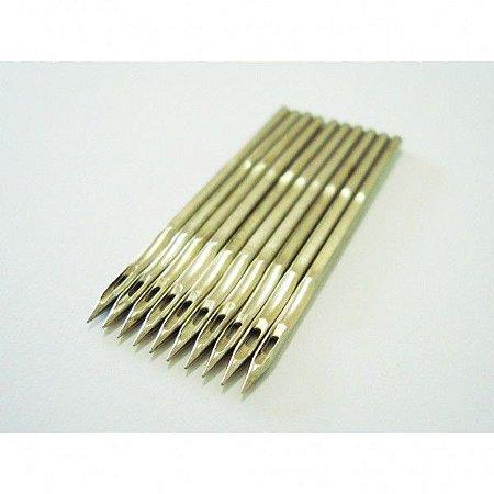 Agulha DNx1 #25 - Pacote com 10 agulhas - GK - Newlong