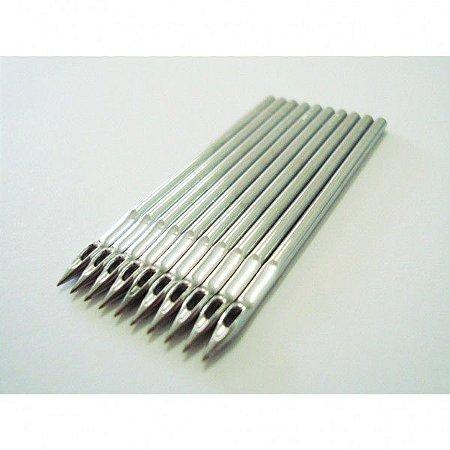 Agulha DPx17 #25  - Pacote com 10 agulhas - Siruba / Waig