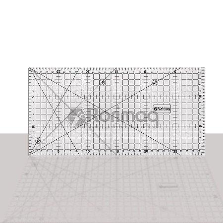 Régua para patchwork e costura 30x15cm