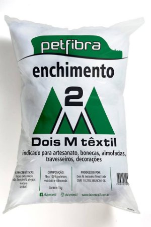 Fibra Silicone Enchimento 100% Poliéster 2M - 1kg