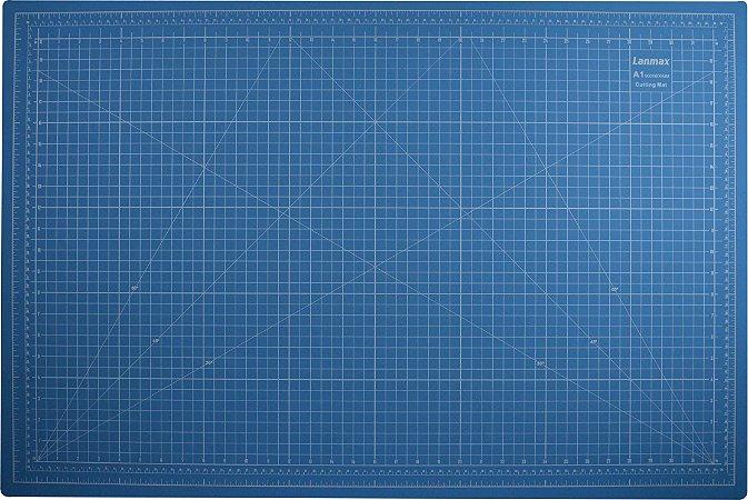 Base placa de corte A1 Azul - 90x60cm Lanmax