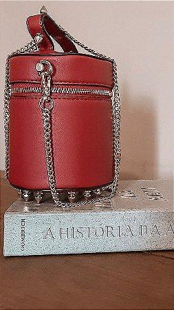 Bolsa estilo Frasqueira Red Rebite