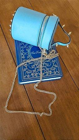 Bolsa estilo Frasqueira Blue Rebite