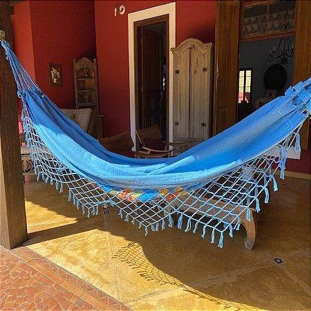 Rede de descanso Azul Royal