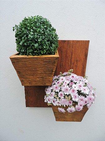 Porta Vaso de Parede