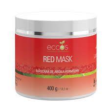 Máscara Argila Vermelha - Red Mask 400g