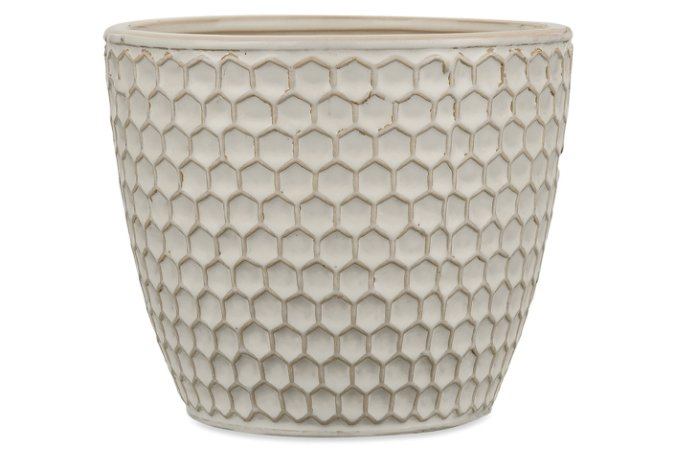Cachepot Off Write em Ceramica M