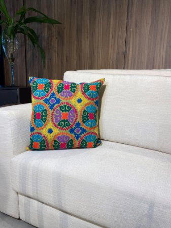 Almofada decorativa de tricô