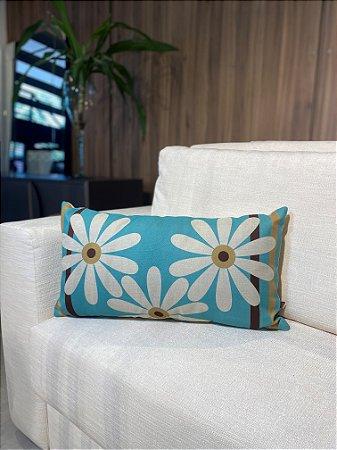 Almofada de rim floral