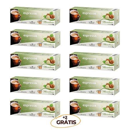 kit Promocional 100 cápsulas de Macadãmia + 20 grátis compatível Nespresso