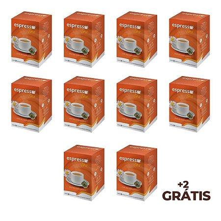 kit Promocional 100 cápsulas de Cha de Camomila + 20 grátis compatível Nespresso