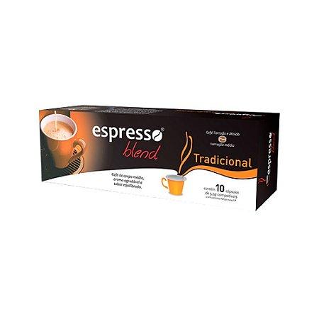 Cápsulas de café Tradicional com 10 unidades compatível Nespresso