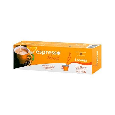 Cápsulas de café aroma Laranja com 10 unidades