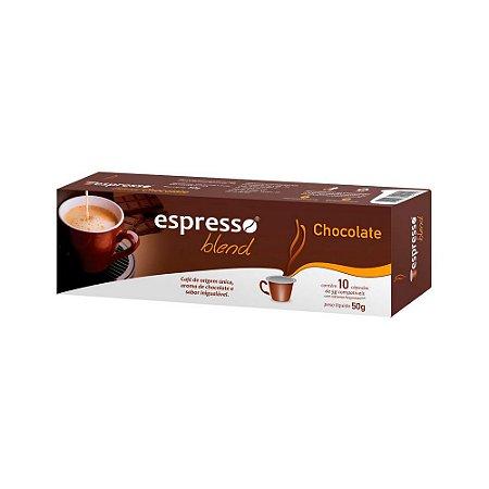 Cápsulas de café aroma Chocolate com 10 unidades