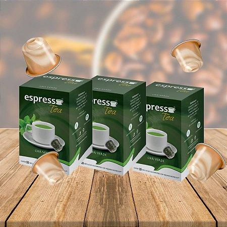Kit 30 cápsulas de Chá Verde compatível Nespresso