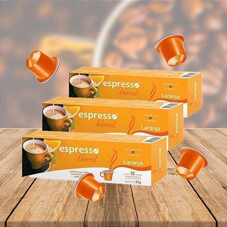 Kit 20 cxs c/10 cápsulas de café sabor Laranja