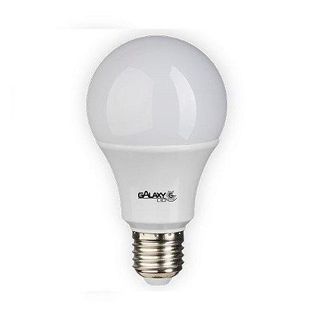 Lâmpada Bulbo LED 9W A60 Branca Bivolt - GalaxyLed