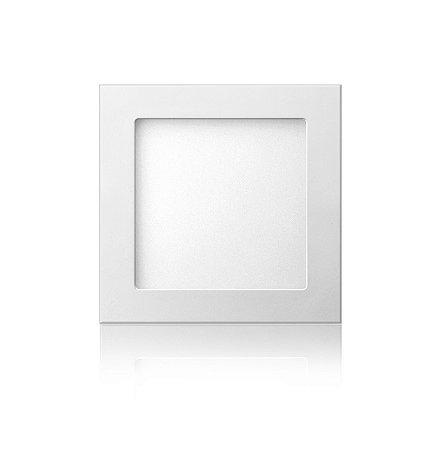 Luminária LED de Embutir Quadrada 12W Branca Fria Bivolt - Elgin