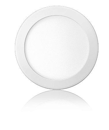 Luminária LED de Embutir Redonda 18W Branca Fria Bivolt - Elgin