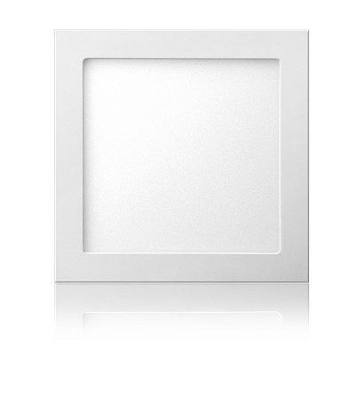 Luminária LED de Sobrepor Quadrada 18W Branca Fria Bivolt - Elgin